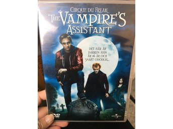 The vampire's assistant - dvd