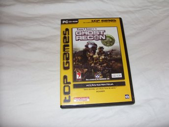Tom Clancys Ghost Recon PC CD ROM first person shooter Ubi Soft & Red Storm 2001