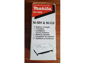 Makita Batteri laddare 7,2 V - 18 V