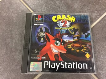 Crash Bandicoot 2 - Cortex Strikes Back till PS1