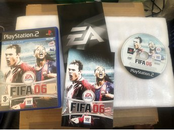 Playstation 2 PS2 spel - FIFA 06
