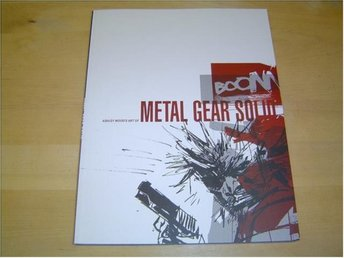 Metal Gear Solid Art Book by Ashley Wood *NYTT*