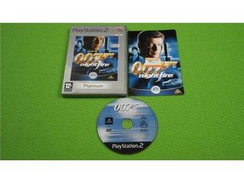 007 Nightfire SVENSKT SRPÅK I SPELET PS2 Playstation 2 - Hägersten - 007 Nightfire SVENSKT SRPÅK I SPELET PS2 Playstation 2 - Hägersten