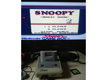 Nintendo Game Boy: Snoopy's Magic Show