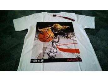T-Shirt. Vit. Exclusive A. Star Wars. Yoda. Basket. Medium - Solna - T-Shirt. Vit. Exclusive A. Star Wars. Yoda. Basket. Medium - Solna