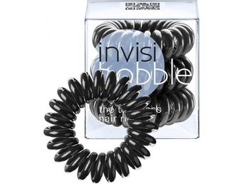 Invisibobble Hair Ring Black 3-pack