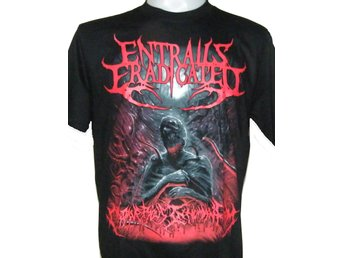 T-SHIRT: ENTRAILS ERADICATED  (Size L)