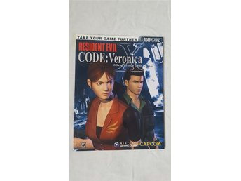 Resident Evil – Code: Veronica Bradygames Official Strategy Guide för GameCube
