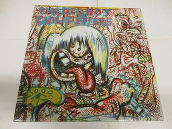 The Red Hot Chili Peppers (LP) - S/T (Röd) - Ospelad!