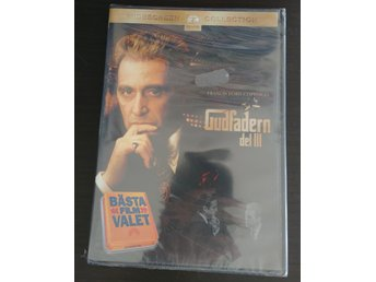 Javascript är inaktiverat. - Bålsta - Gudfadern del III - The Godfather: Part III (Al Pacino)Ny och inplastad dvd enligt bild. Svensk text.Skickas från Sverige. 1-2 dagars postgång - Bålsta