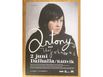 Poster Antony and the Johnsons Dalhalla / Rättvik