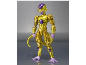 Bandai Shokugan Shodo Dragon Ball Z Golden Frieza Åtgärd Figurleksaker