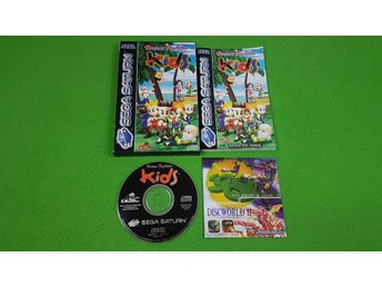 Virtua Fighter Kids KOMPLETT Sega Saturn