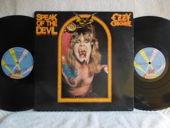 OZZY OSBOURNE - SPEAK OF THE DEVIL - JETLP 401