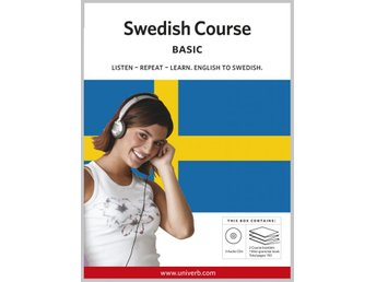 Swedish basic course CD