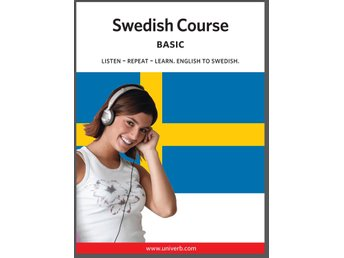 Swedish basic course MP3-CD