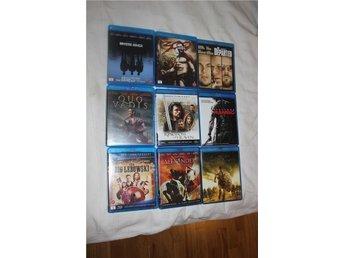 Bluray filmpaket 9st kvalitetsfilmer - Ljungby - Bluray filmpaket 9st kvalitetsfilmer - Ljungby