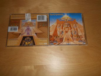 IRON MAIDEN - CD - POWERSLAVE