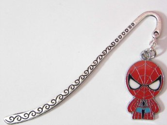 Spiderman bokmärke / Spiderman bookmark