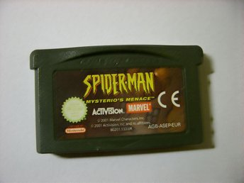 Gameboy spel. advance