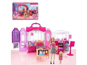 Barbie Glam Getaway House Bonus Pack with 2 Dolls - Barbie & Little Sister New - Ginsheim - Barbie Glam Getaway House Bonus Pack with 2 Dolls - Barbie & Little Sister New - Ginsheim