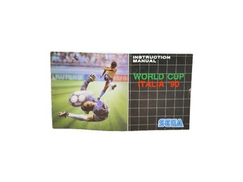 World Cup Italia'90 (Manual MD EUR)