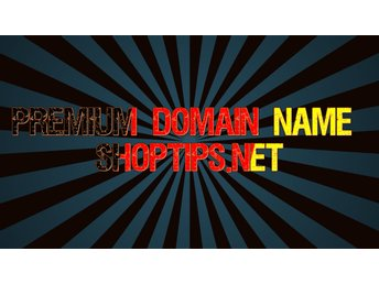 Premium Domain Name Shoptips.net