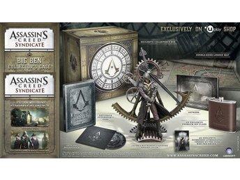 Javascript är inaktiverat. - Nynäshamn - Assassins Creed Syndicate Big Ben Case Collectors Edition PS4 spel NYTT och INPLASTAT !!! Skickas när jag ser pengarna på mitt personkonto i Nordea. Se även mina andra auktioner för eventuell samfrakt. Jag kan invänta lön, bidrag o dyli - Nynäshamn