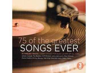 75 Of The Greatest Songs Ever (Digi) (3 CD)