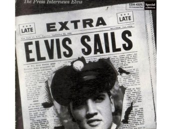 ELVIS PRESLEY  CD  ELVIS SAILS  SPECIAL CD