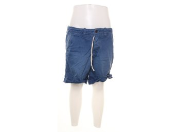 Abercrombie & Fitch, Shorts, Strl: 33, Blå