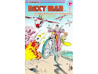 Next Man nr 4 (1985) VF/NM / toppskick