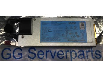 HP Hot-plug PSU 500W 720478-B21 till Gen9 Servers