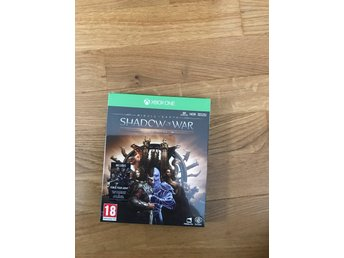 Shadow of war gold edition. Xbox one. Nytt