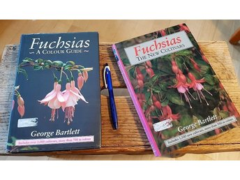 (Fuchsia) 2 BÖCKER: GEORGE BARTLETT A colour guide & The new cultivars/ 320+240s