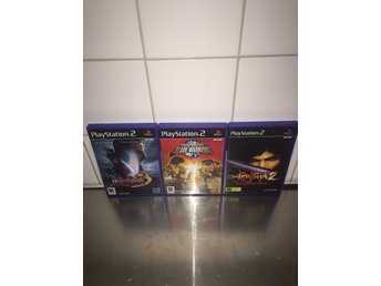 Playstation 2 | Onimusha 2 , 3 , & Blade Warriors | Svensksålt