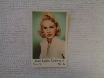 Nr 30 Janet Leigh- Serie S 1957- Stor text