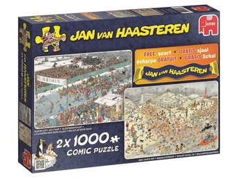 Jan Van Haasteren 2-i-1 Winter fun Pussel 2x1000 bitar 19081