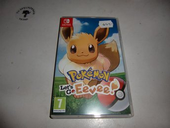 Pokemon Let´s Go Eevee