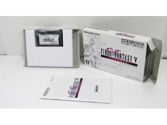 Final Fantasy V (japanskt) till GBA gameboy advance