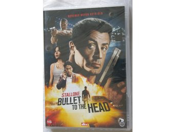 Bullet to the head, DVD, Svensk text, Oanvänd, Inplastad