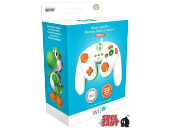 Nintendo Wii U Wired Fight Pad Yoshi Edition