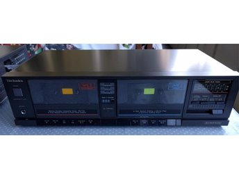 TECHNICS RS-T20 DUAL CASSETTE STEREO TAPE DECK PLAYER