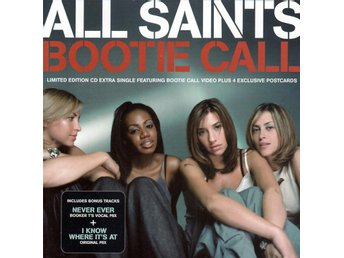 All Saints - Bootie Call - 1998 - Limited Edition - CD Maxi