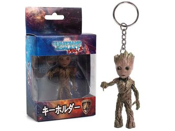 Marvel Guardians Galaxy Baby Groot Nyckel Ring Grön 7.5cm - Chonburi - Marvel Guardians Galaxy Baby Groot Nyckel Ring Grön 7.5cm - Chonburi