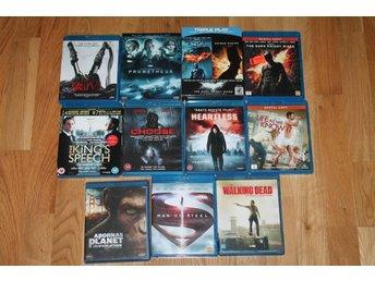 BLURAY filmer / BLU-RAY filmpaket, Saw, Walking Dead, Batman, säker frakt! - Storfors - BLURAY filmer / BLU-RAY filmpaket, Saw, Walking Dead, Batman, säker frakt! - Storfors