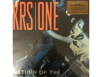 KRS-ONE - RETURN OF THE BOOM BAB 2-LP 180G KLAR VINYL LIMITED NY