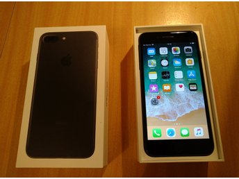 Iphone 7 128 gb matt svart