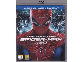 The amazing Spider-man 3D Blu-ray  (2 DISC)