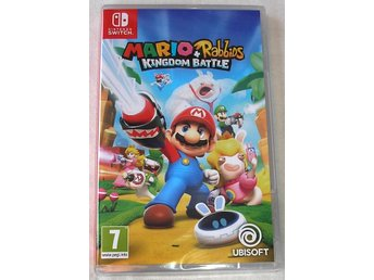 Mario + Rabbids Kingdom Battle (Nintendo SWITCH) -NYTT-